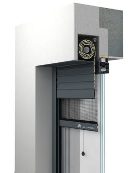Roleta podtynkowa aluminiowa - SP-E
